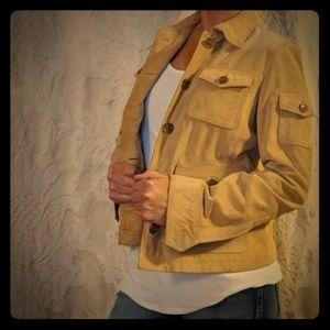 J Crew suede jacket. Size M.